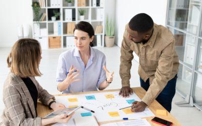Sharing business ideas
