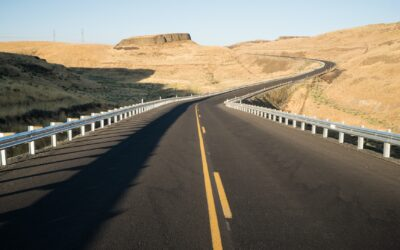 Eastern Washington Desert Highway Lyons Ferry Road